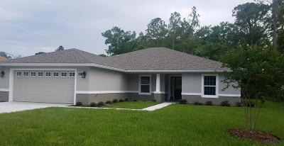 Seminole Woods Single Family Home For Sale: 38 Sloganeer Trail