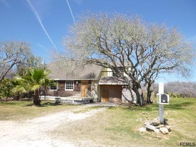 Palm Coast FL Single Family Home For Sale: $187,300