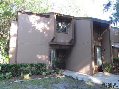 Palm Coast Condo/Townhouse For Sale: 33 Fairways Circle #33