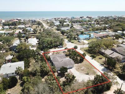 Flagler Beach Single Family Home For Sale: 1860 S Flagler Ave