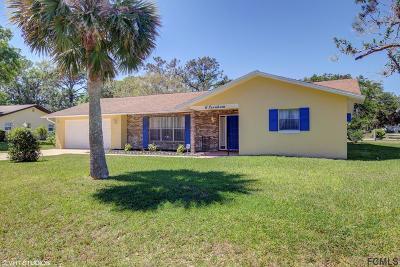 Palm Coast Single Family Home For Sale: 6 Fernham Lane