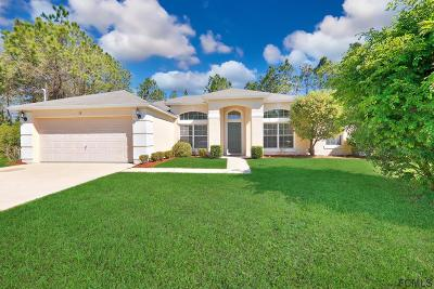 Palm Coast FL Single Family Home For Sale: $189,900