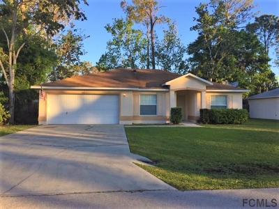 Palm Coast FL Single Family Home For Sale: $159,900