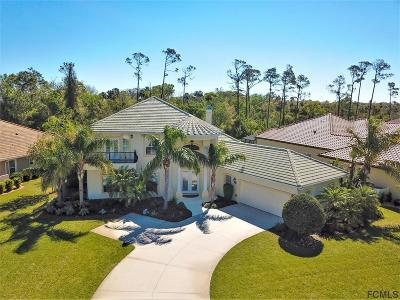 Palm Coast Plantation Single Family Home For Sale: 5 Heron Dr