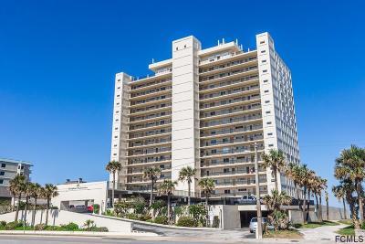 Ormond Beach Condo/Townhouse For Sale: 89 S Atlantic Ave #1606