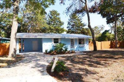 Palm Coast Single Family Home For Sale: 3 Live Oak Rd