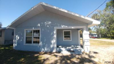 Bunnell Single Family Home For Sale: 308 E Booe St E