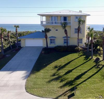 Flagler Beach Single Family Home For Sale: 3431 N Ocean Shore Blvd