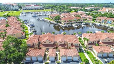 Palm Coast Condo/Townhouse For Sale: 40 Captains Walk #40