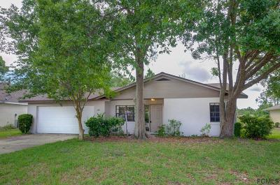 Palm Coast Single Family Home For Sale: 140 Westgrill Dr