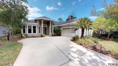 Palm Coast Single Family Home For Sale: 12 Lakeview Ln