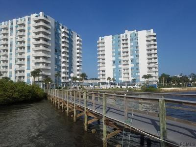 Daytona Beach Condo/Townhouse For Sale: 925 N Halifax Avenue #309