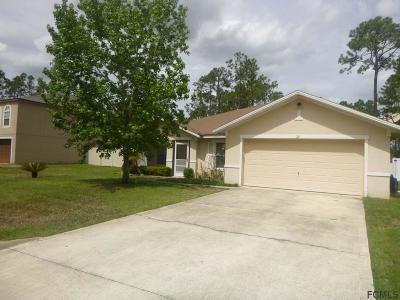 Palm Coast Single Family Home For Sale: 72 Ryecliffe Drive