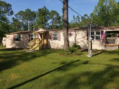 Bunnell Single Family Home For Sale: 6400 Hibiscus St