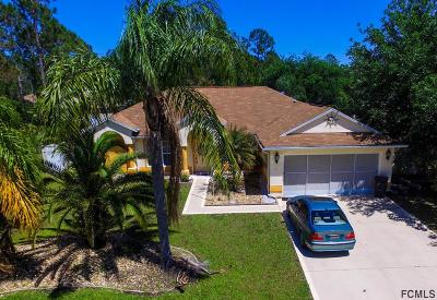 Seminole Woods Single Family Home For Sale: 3 Sea Flower Path