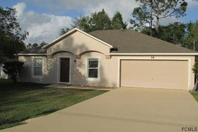Seminole Woods Single Family Home For Sale: 9 Sea Flower Path