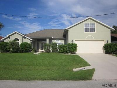 Palm Coast Single Family Home For Sale: 17 Christopher Ct N