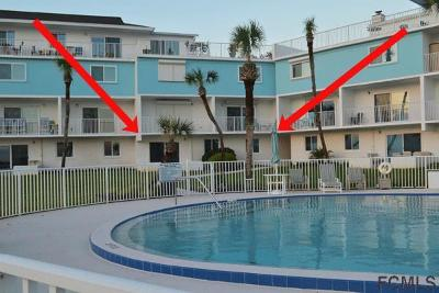 Flagler Beach Condo/Townhouse For Sale: 3510 S Ocean Shore Blvd #104