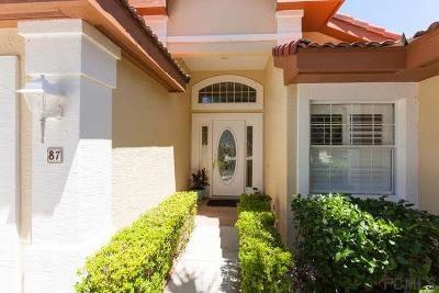 Palm Coast Single Family Home For Sale: 87 San Juan Drive