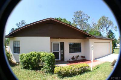 Palm Coast Single Family Home For Sale: 12 Princess Dolores Ln
