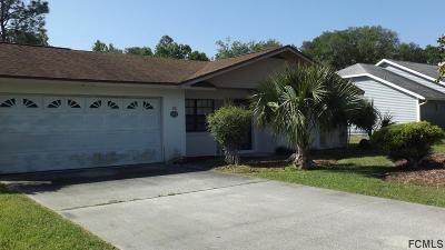 Palm Coast Single Family Home For Sale: 15 Bay Spring Pl