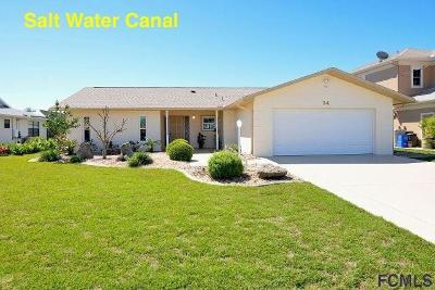 Palm Coast Single Family Home For Sale: 14 Crazy Horse Court