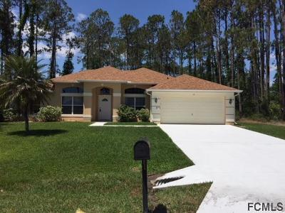 Palm Coast Single Family Home For Sale: 12 Farnell Lane