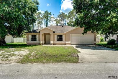 Palm Coast Single Family Home For Sale: 19 Port Royal Drive