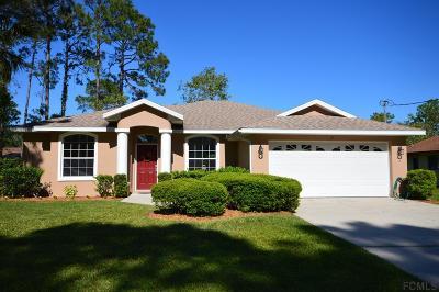 Palm Coast Single Family Home For Sale: 15 Beaverdam Ln