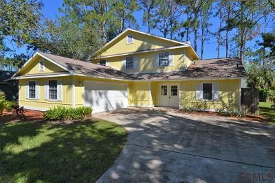Palm Coast FL Single Family Home For Sale: $226,000