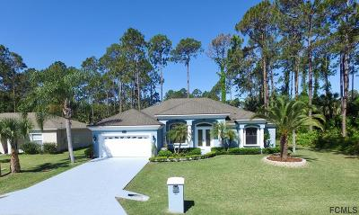 Palm Coast FL Single Family Home For Sale: $320,000
