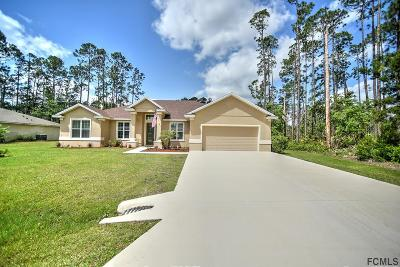Palm Coast FL Single Family Home For Sale: $299,951
