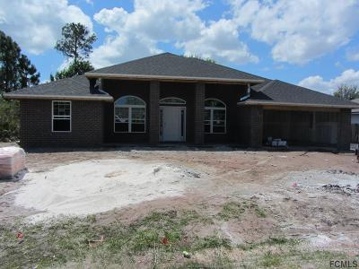Palm Coast Single Family Home For Sale: 31 Bud Field Drive