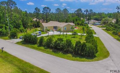 Palm Coast Single Family Home For Sale: 23 Round Tree Drive