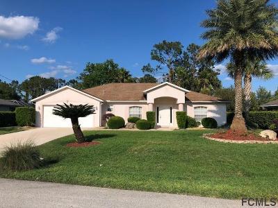 Palm Coast FL Single Family Home For Sale: $269,000
