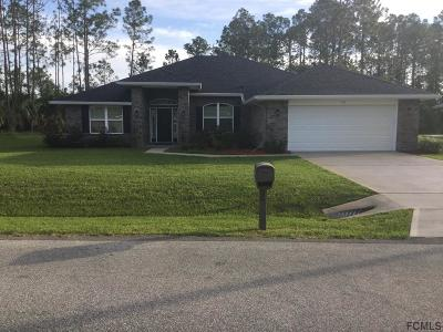 Palm Coast Single Family Home For Sale: 90 Sloganeer Trail