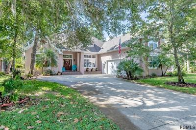 Flagler Beach Single Family Home For Sale: 37 Whitehall Court
