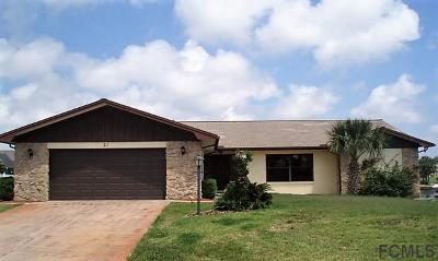Palm Coast Single Family Home For Sale: 21 Floral Court