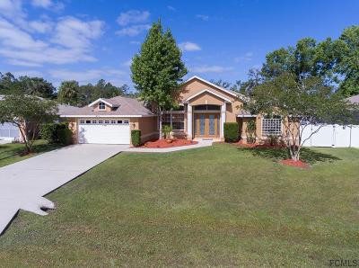 Palm Coast Single Family Home For Sale: 37 Woodborn Lane