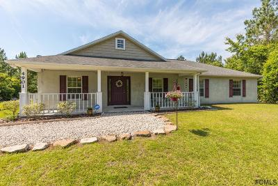 Bunnell Single Family Home For Sale: 4901 Walnut Avenue