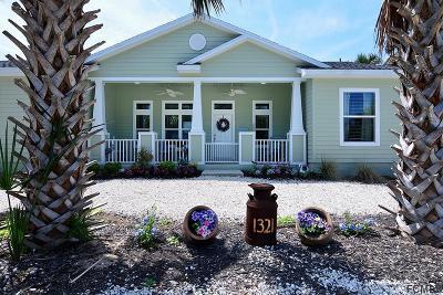 Flagler Beach Single Family Home For Sale: 1321 N Daytona Ave