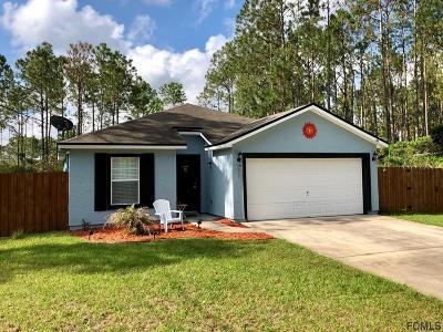 Palm Coast Single Family Home For Sale: 86 Secretary Trail