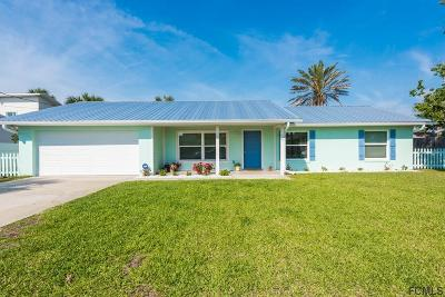 Flagler Beach Single Family Home For Sale: 123 Avalon Ave