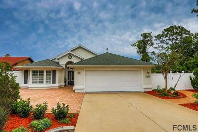 Palm Coast Single Family Home For Sale: 159 Florida Park Dr