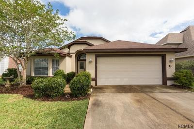 Flagler County Single Family Home For Sale: 8 Crossbow Court