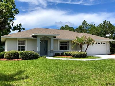 Palm Coast Single Family Home For Sale: 1 Pine Grove Dr