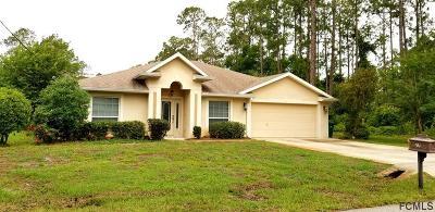 Palm Coast FL Single Family Home For Sale: $229,900