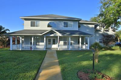 Ormond Beach Single Family Home For Sale: 9 Cliff View Ln