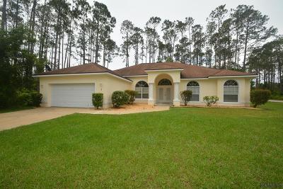 Palm Coast FL Single Family Home For Sale: $234,900