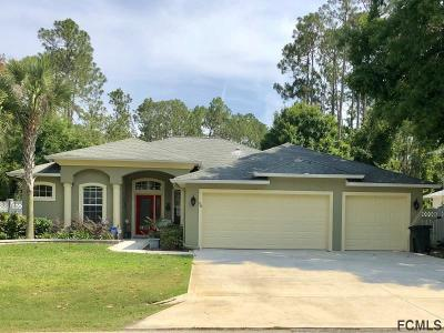 Palm Coast Single Family Home For Sale: 58 Barrister Ln